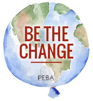 PEBA. Be the change