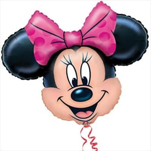 Minnie  Mouse Shape 71 x 58cm