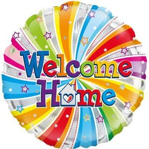 Oaktree Welcome Home Swirl 45cm Foil