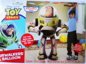 Buzz lightyear 4 Air Walker 111cm x 157cm