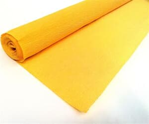 Crepe Paper Yellow 50cm x 2.5mtrs