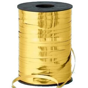 Metallic Ribbon Gold 365 metre