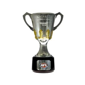 AFL Premiership Cup Cutout Double Sided Small 32cm