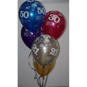 Qualatex Balloons 40 Around Parties and More Asst SP