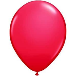 Qualatex Balloons Red 40cm