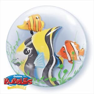 Seaweed Tropical Fish Double Bubble 60cm