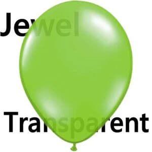 Qualatex Balloons Jewel Lime 40cm