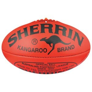 AFL Football Cut Outs Small Double Sided 40cm
