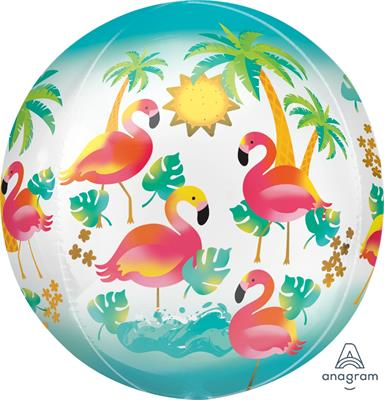 Orbz Lets Flamingle 43cm x 45cm
