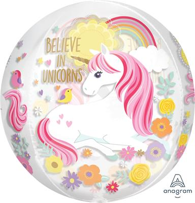 Orbz Magical Unicorn 43cm x 45cm