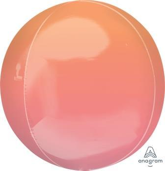 Orbz Ombre Red & Orange