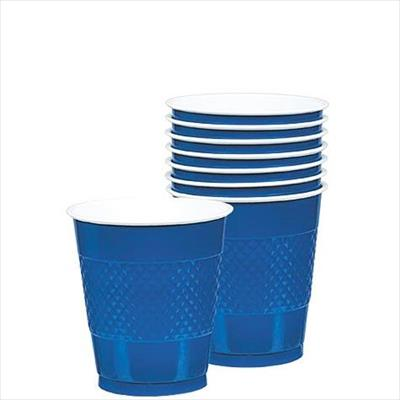 Cup Plastic 355ml Royal Blue
