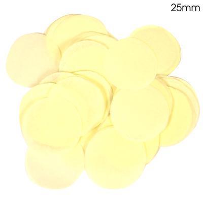 Oaktree 2.5cm Paper Confetti Ivory