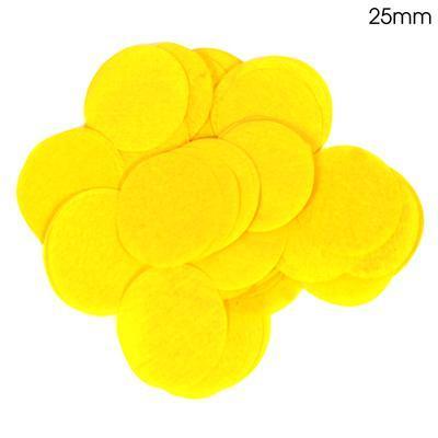 Oaktree 2.5cm Paper Confetti Yellow