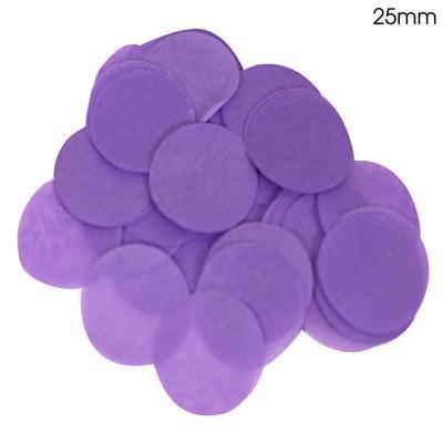 Oaktree 2.5cm Paper Confetti Purple
