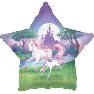 Unicorn Fantasy Foil Balloon 45cm