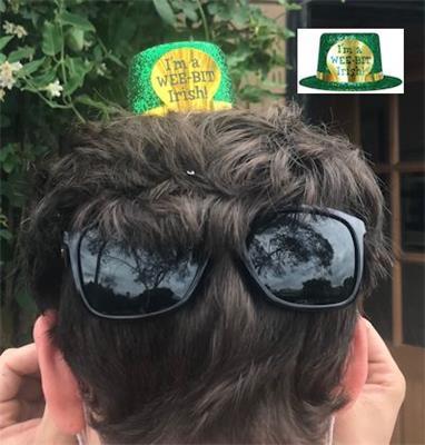St Patricks Day Mini Hats - I'm a Wee Bit Irish
