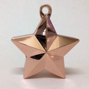 Star Weight Metallic Rose Gold 150g Super Bulk Buy 96