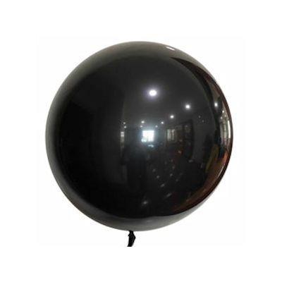 """Bobo Balloon Balls Black18"""" 45cm"""