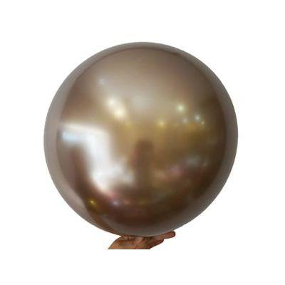 """Bobo Balloon Balls Gold 18"""" 45cm"""