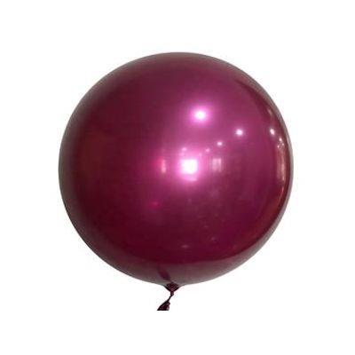 """Bobo Balloon Balls Plum 18"""" 45cm"""