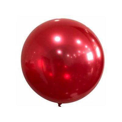 """Bobo Balloon Balls Red 18"""" 45cm"""