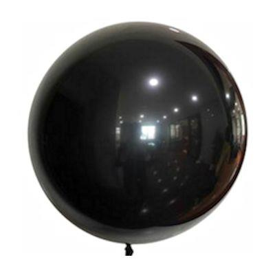 """Bobo Balloon Balls Black 22"""" 55.8"""