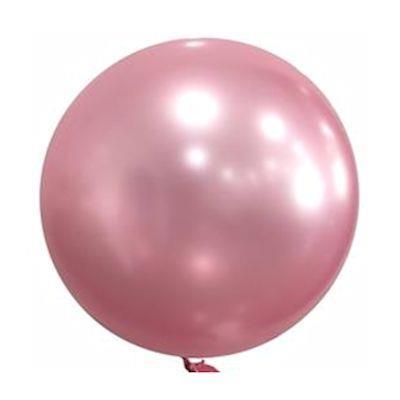 "Bobo Balloon Balls Pink 22"" 55.8"