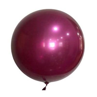 """Bobo Balloon Balls Plum 22"""" 55.8"""