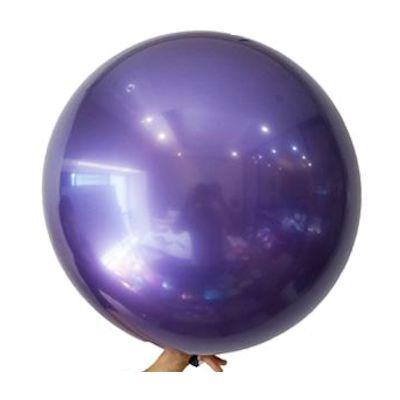 "Bobo Balloon Balls Purple 22"" 55.8"