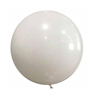 """Bobo Balloon Balls White 22"""" 55.8"""