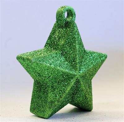 Glitter Star Weight 150g Green