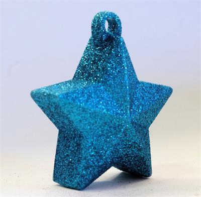 Glitter Star Weight 150g Light Blue