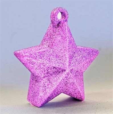 Glitter Star Weight 150g Light Pink