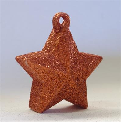 Glitter Star Weight 150g Orange