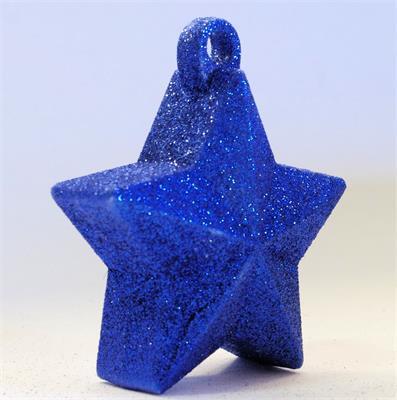 Glitter Star Weight 150g Royal Blue