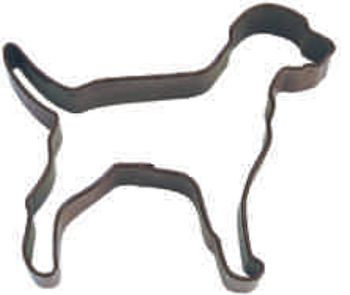 Cookie Cutter Poly Resin Coated Dog 10.2cm