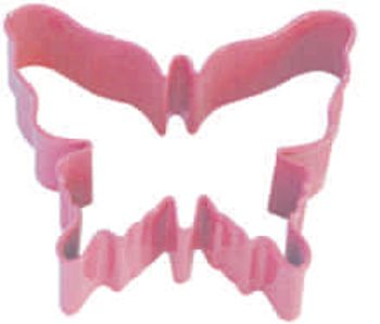 Cookie Cutter Poly Resin Coated Butterfly 8.3cm