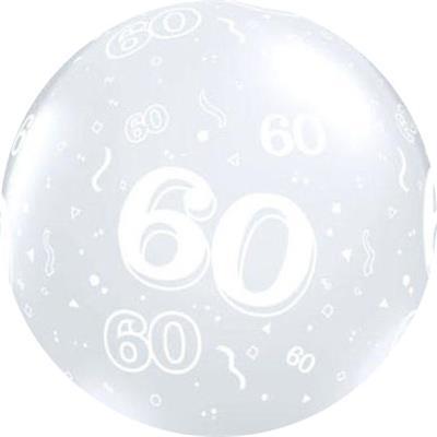 60 Around 90cm Latex Diamond Clear Custom print