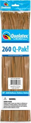 Q-Pack 260q Mocha Brown