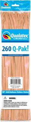 Q-Pack 260q Neon Orange
