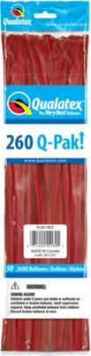 Q-Pack 260q Ruby Red