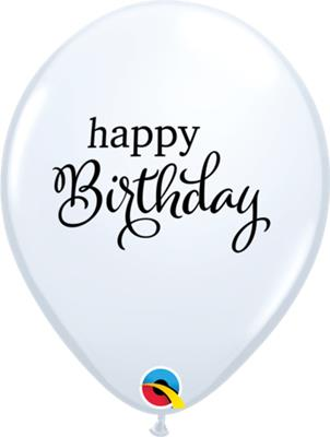 Qualatex Balloons Simply Happy Birthday 28cm