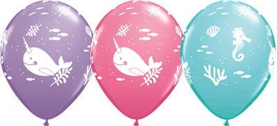 Qualatex Balloons Fun Under the Sea Asst 28cm