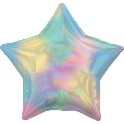 Star Iridescent Blush 45cm.  Unpackaged