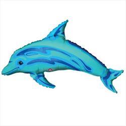 Ocean Blue Dolphin Mini Shape