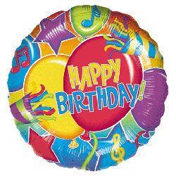Birthday Glitter 23cm disc ana 10/11