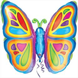 Bright Butterfly Shape 63cm x 63cm
