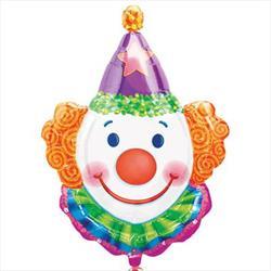 Juggles the Clown SuperShape 63 x 83cm