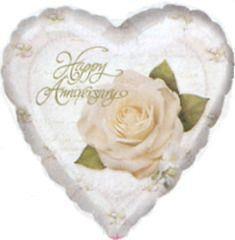 Petals & pearls Anniversary 23cm